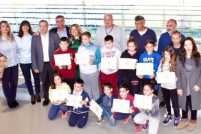 Ολοκληρώθηκαν με επιτυχία τα μαθήματα κολύμβησης μαθητών/τριών Γ' Δημοτικού για το Β΄ Τρίμηνο