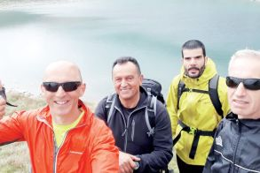 """Ναουσαίοι ορειβάτες στο """"Pelister National Park"""""""