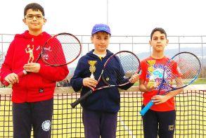 ΤΕΝΝΙΣ - Νέα του Ερμή Βέροιας -  Επιτυχίες των αθλητών στο 11ο Περιφερειακό Πρωτάθλημα