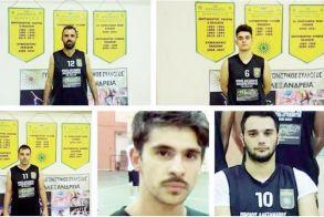 Ο ΓΑΣ ΑΛΕΞΑΝΔΡΕΙΑ ανανέωσε με εννέα καλαθοσφαιριστές για το αγωνιστικό έτος 2018-19