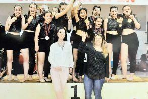 ΑΓΩΝΙΣΤΙΚΟΣ ΧΟΡΟΣ - Μεγάλες επιτυχίες του ΑΟΡΓ Βέροιας στους Διεθνείς Χορευτικούς Αγώνες «SALONICAOPEN»