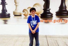 Νέα πρωτιά του Ημαθιώτη μαθητή Μιχάλη Καραμίχου σε Διεθνές Σκακιστικό Τουρνουά