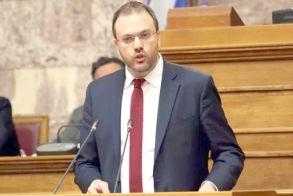 Θ. Θεοχαρόπουλος στη Βουλή για τον προϋπολογισμό:  «Έχετε υπογράψει δεσμεύσεις  για τα επόμενα χρόνια,  που συνιστούν ένα βαρύ  πρόγραμμα για την χώρα»