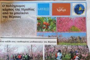 Φεστιβάλ «Ελλάδα παντού»  Στην Ελληνο-Ολλανδική Έκθεση  η Αντιδημαρχία Τουρισμού Βέροιας