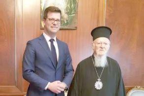 Στην Κωνσταντινούπολη   ο υφυπουργός Μεταναστευτικής   Πολιτικής Άγγελος Τόλκας