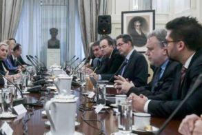 Εθνική ομοψυχία και σύμπνοια κομμάτων στη συνεδρίαση του Εθνικού Συμβουλίου Εξωτερικής Πολιτικής