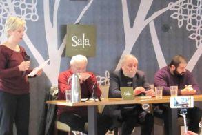 Σε μια γεμάτη από κόσμο sala παρουσιάστηκε το βιβλίο   του Γ.Ξ. Τροχόπουλου «Βάντα»
