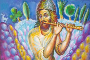 Η Έκθεση Ζωγραφικής  παπα -Σταμάτη Σκλήρη  στο «Εκκοκκιστήριο Ιδεών» έως  23 Ιουνίου 2019