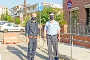Από Δήμο Βέροιας και Αστυνομική Διεύθυνση - Οριζόντιες σημάνσεις για ασφαλή κυκλοφορία