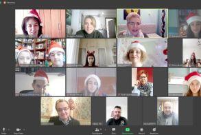 Λάππειο 1ο Γυμνάσιο Νάουσας: Πρωτοχρονιάτικα διαδικτυακά κάλαντα από την ομάδα Erasmus