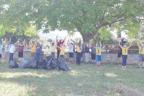 Μικροί εθελοντές του 5ου Συστήματος Προσκοπων Βέροιας , καθάρισαν το Κομνήνιο