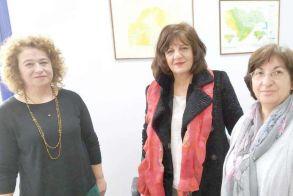 Τον ΕΛΓΑ Βέροιας επισκέφθηκε η βουλευτής Φρόσω Καρασαρλίδου