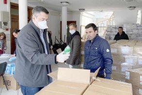Από την Περιφέρεια   Είδη ατομικής   προστασίας   και υγιεινής   σε νοσοκομεία, Κέντρα Υγείας   και ασθενοφόρα   της Κεντρικής   Μακεδονίας