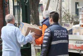 Παραδόθηκαν από την Περιφέρεια μέσα σε μια εβδομάδα - 25 τόνοι υγειονομικού υλικού και είδη ατομικής προστασίας στους ανθρώπους της πρώτης γραμμής