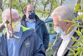 Δήμος Αλεξάνδρειας: Σε Μελίκη και Κυψέλη ο Προέδρος του ΕΛΓΑ, Ανδρέας Λυκουρέντζος