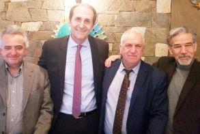 Με τους 3 προέδρους του δικηγορικού συλλόγου