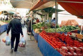 Από το Υπουργείο Αγροτικής Ανάπτυξης Εγκρίθηκαν 7.175.600 ευρώ για 7.966 δικαιούχους παραγωγούς πωλητές λαϊκών αγορών που επλήγησαν από τον κορωνοϊό