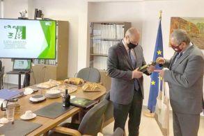 Τον ΕΛΓΟ - ΔΗΜΗΤΡΑ  επισκέφθηκε ο Υφυπουργός Αγροτικής Ανάπτυξης