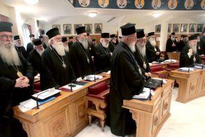 Ομόφωνη απόφαση της Ιεράς Συνόδου,   να παραμείνει ως έχει το καθεστώς μισθοδοσίας   των κληρικών και να συνεχιστεί ο διάλογος
