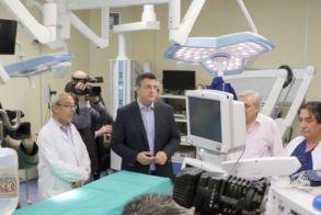 Α. Τζιτζικώστας: «Κατασκευάσαμε στο ΑΧΕΠΑ   τα πιο σύγχρονα χειρουργεία στην Ελλάδα»