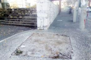 Τα «ίχνη»  του περιπτέρου στην οδό Βερόης