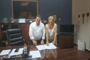 Περιφερειακή Ενότητα Ημαθίας: Υπογραφή συμβάσεων για 2 έργα οδοποιίας