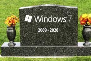 Windows 7: Σε έναν χρόνο από σήμερα σταματά οριστικά η υποστήριξη τους