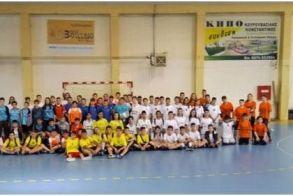 Αγώνες χάντμπολ δημοτικών σχολείων διοργανώθηκαν στην Βέροια
