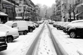 Χιόνι και παγωνιά είναι  στον καιρό του… θα περάσει!