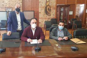Υπογραφή σύμβασης για διαμόρφωση χώρου πρασίνου στο Εργοχώρι