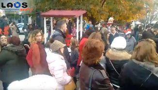 Η πλατεία της Νάουσας ήταν γεμάτη...από παιδιά και ξωτικά!