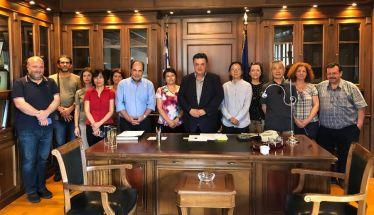 Κοινοπραξία Συνεταιρισμών Ομάδων Παραγωγών Ημαθίας :Άνοιγμα της Κινέζικης αγοράς στα Ελληνικά πυρηνόκαρπα