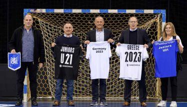 Ελλάδα και Γερμανία ενώνουν τις δυνάμεις τους  για την Διεξαγωγή του Παγκοσμίου πρωταθλήματος U21  του χαντ μπολ