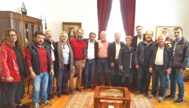 Με τον Γιώργο Σοφιανίδη συναντήθηκε το νέο Διοικητικό Συμβούλιο της Πανελλήνιας Ομοσπονδίας Εργαζομένων στις ΔΕΥΑ