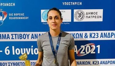 Πρωταθλήτρια Ελλάδος στο μήκος η Έφη Κολοκυθά του ΓΑΣ Αλεξάνδρεια με 6.33 Στην 2η θέση ο Ν. Ξενικάκης