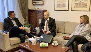 Συνάντηση του Απ. Τζιτζικώστα με τον Διοικητή της Εθνικής Αρχής Διαφάνειας Άγγελο Μπίνη