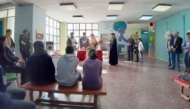 Tο Μυστήριο του Ευχελαίου τελέστηκε στο Ενιαίο Ειδικό Επαγγελματικό Γυμνάσιο-Λύκειο Βέροιας