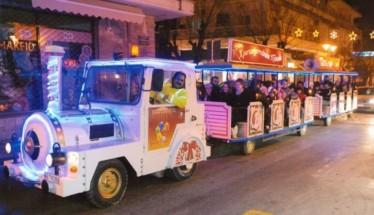 Ξεκινά την Παρασκευή (14/12) τα δρομολόγιά του το εορταστικό τρενάκι της Βέροιας