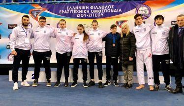 Εντυπωσιακή εμφάνιση της αγωνιστικής ομάδος Jiu-Jitsu του ΑΣ Ρωμιός στο 18ο Πανελλήνιο Πρωτάθλημα Jiu-Jitsu στην Αθήνα (Φωτό)