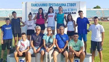 Αποτελέσματα αγώνων στίβου στους Πανελλήνιους Κ16 ΠΠ/ΠΚ  της ΓΕ Νάουσας