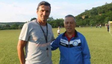 Ο Θωμάς Τρούπκος στην Ακαδημία Ποδοσφαίρου Βέροιας. Και ο Γιώργος Μίλης