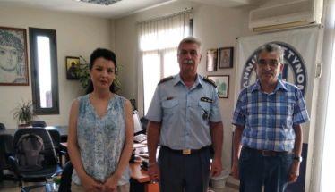 Συνάντηση της Πρωτοβουλίας για το Παιδί με τον Αστυνομικό Διευθυντή Ημαθίας