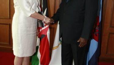 Επίσκεψη στην Βέροια  της Προξένου της Κένυας  με αφορμή τον 8ο ΦΙΛΙΠΠΕΙΟ Δρόμο