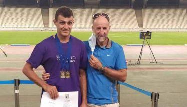 Ένα χρυσό και ένα αργυρό μετάλλιο για το Νίκο Τουλίκα στην Αθήνα