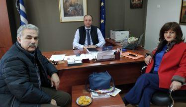 Η βουλευτής Φρόσω Καρασαρλίδου επισκέφθηκε τον νέο Διοικητή, τους εργαζόμενους του Νοσοκομείου Βέροιας και τον ΟΚΑΝΑ