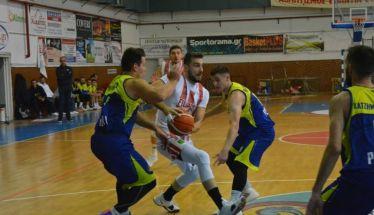 Μπάσκετ Β' εθνικής  .Φίλιππος - Μαχητές Πεύκων  81-62