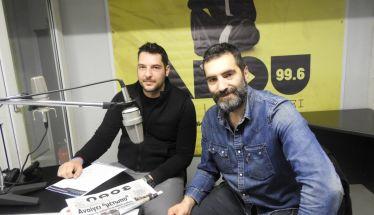 Ο Δημήτρης Κοντσίδης και ο Γιάννης Ζιώρης για τις φωτογραφίες των νέων ταυτοτήτων 21.2.2018