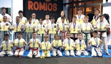 31 αθλητές του ΑΣ Ρωμιός  κατέκτησαν 53 μετάλλια , εκ των οποίων 7 χρυσά , 23 αργυρά και 23 χάλκινα  στο Κύπελλο Jiu-Jitsu Βορείου Ελλάδος- Όλα τα ονόματα