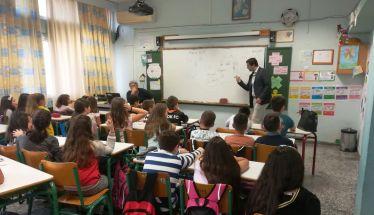 Ενημέρωση  για την ασφαλή πλοήγηση στο διαδίκτυο πραγματοποιήθηκε στο 4ο Δημοτικό Σχολείο Βέροιας από τον  κ. Απόστολο Μούρτη