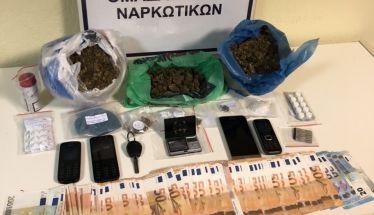 Δυο 42χρονοι συνελήφθησαν από την Ομάδα Δίωξης Βέροιας  για διακίνηση ναρκωτικών